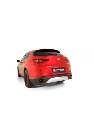 Remus Duplex Sportauspuff Racinganlage ab Kat. Alfa Romeo Stelvio Q4 Typ 949 2.0l Turbo