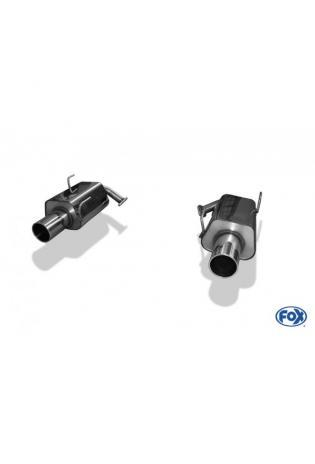 FOX Sportauspuff Subaru Legacy V Station Wagon BR 2.0l D rechts links je 1x114mm