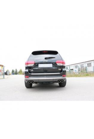 FOX Duplex Sportauspuff Jeep Grand Cherokee WKII CRD ab 2014 rechts links je 2x106x71mm