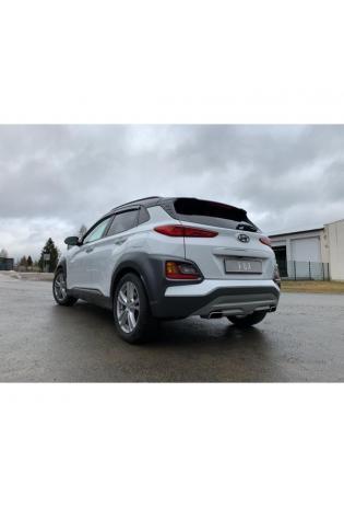 FOX Duplex Sportauspuff Hyundai Kona 1.6l 4WD rechts links je 1x145x65mm