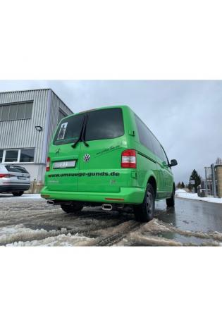 FOX Duplex Komplettanlage ab Kat. VW Bus T5 T6 4motion rechts links je 1x160x80mm