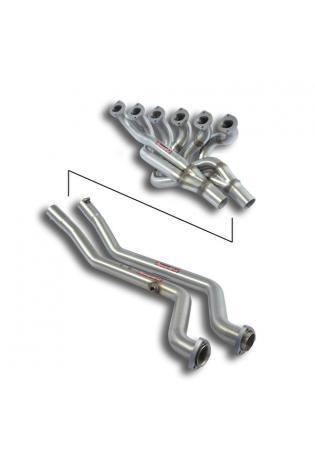 Supersprint Fächerkrümmer Verbingungsrohr Left Hand Drive für BMW E24 E12