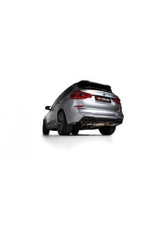 Remus Duplex Klappen Sportauspuff BMW X3 M F97 inkl. Competition rechts links je 2x102mm Carbon