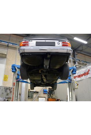 Supersprint Sportauspuff Komplettanlage zentraler Ausgang BMW 02er 2002 Turbo Bj. 73-74