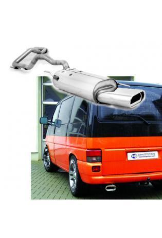 FOX Racinganlage ab Kat. VW Bus T4 Kasten Pritsche Syncro ab Bj. 1990 1x160x80mm Absorber