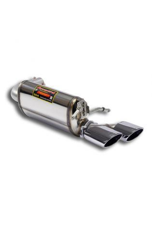 Supersprint Duplex Endschalldämpfer 120x80 AMG style für MERCEDES A207
