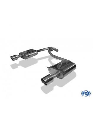 FOX Duplex Komplettanlage ab Kat. Ford Mondeo IV Fließheck 2.5l rechts links je 1x100mm