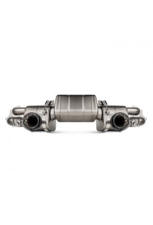 Akrapovic Titan Sportauspuff Endschalldämpfer Porsche 718 Cayman GT4 ohne Endrohre