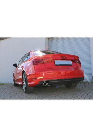 FOX Komplettanlage ab Kat. Audi A3 8V Limousine 1.8l TFSI S-Line links 2x80mm