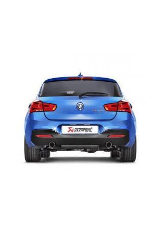 AKRAPOVIC Evolution Line Komplettanlage Sportauspuff BMW 1er M140i F20 F21 ab Bj. 2015