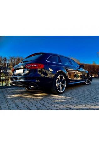 FOX Sportauspuff Audi A4 B8 A5 S5 8T quattro Coupe A5 Cabrio rechts links je 1x100mm eingerollt