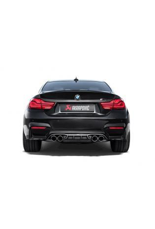 Akrapovic Sportauspuff Titan Endschalldämpfer BMW M4 F82 F83 mit OPF ab Bj. 2018
