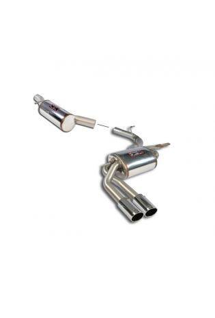 Supersprint Komplettanlage Edelstahl Endschalldämpfer VW TIGUAN 2.0 TSI 4-Motion und Allspace