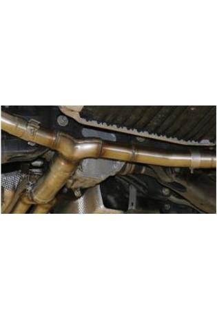 FOX Sportauspuff Y-Rohr Mercedes C-Klasse 205 C43 Limousine T-Modell Cabrio Coupe