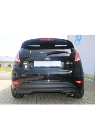FOX Racinganlage ab Kat. Ford Fiesta VII/ Fiesta VII Sport Black/ Red Edition 1.4l 145x65mm