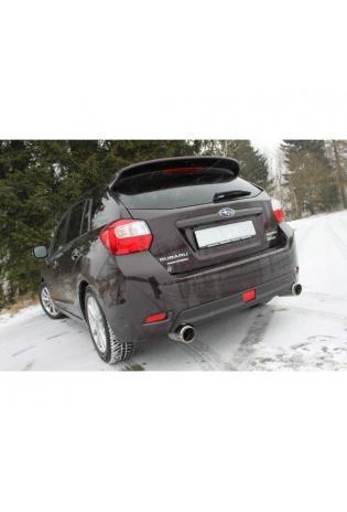 FOX Duplex Sportauspuff Subaru Impreza GP 4x4 2.0l re li je 1x100mm Racing Design