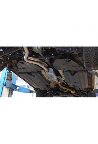FOX Sportauspuff Vorschalldämpfer Subaru Impreza GP 4x4 2.0l