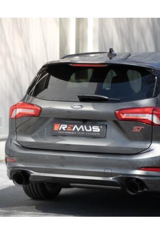 Remus Duplex Sportauspuff Ford Focus IV ST Schrägheck 2.3l EcoBoost re li je 1x115mm schräg