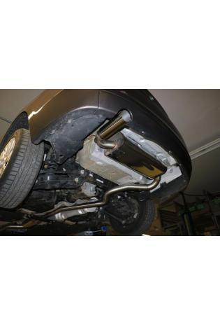 FOX Sportauspuff Racinganlage ab Kat. 3er BMW F30 F31 316i 1x80mm scharf