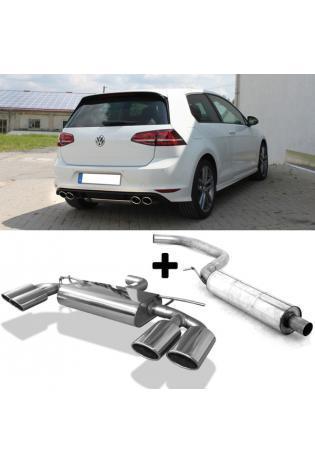FOX Komplettanlage ab OPF VW Golf VII Facelift Einzelrad rechts links je 2x115x85mm