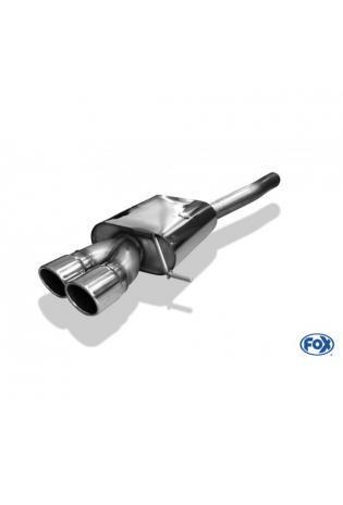 FOX Komplettanlage ab Kat. VW Golf 7 Variant Einzelrad 2x90mm eingerollt