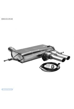 Bastuck Klappen Komplettanlage ab Kat. ohne OPF Renault Megan 4 RS 1.8l 205kW 2x76mm