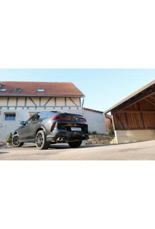 EISENMANN Duplex Klappen Komplettanlage BMW X5 X6 M Competition re li je 2x100mm