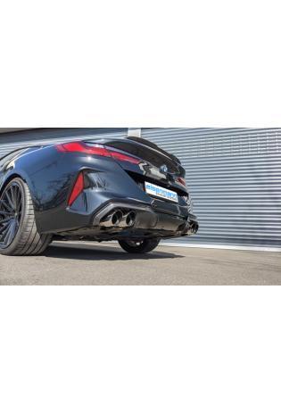 EISENMANN Klappen Racinganlage BMW 8er Cabrio Coupe M Competition XDrive je 2x100mm
