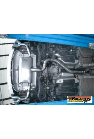 Ragazzon Duplex Endschalldämpfer Audi TT Typ 8J Coupe Quattro 2x80mm
