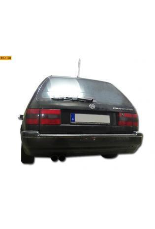 VW Passat 3 inkl. Variant Typ 35i 1.6l  1.8l  2.0l  2.8l u. Diesel BASTUCK Sportauspuff 2 x 76mm (AnschlussØ 63mm)