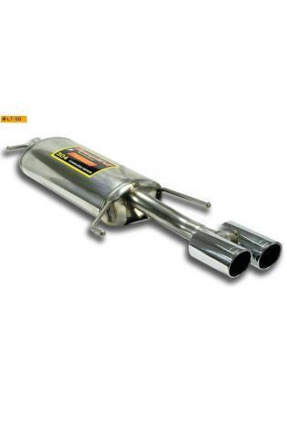 Supersprint Sportauspuff Endschalldämpfer 2x80 rund - Audi A6 C5 Typ 4B 4türig und Avant 2.0i 1.8T 2.4i 1.9 TDi 2.5 TDi Bj. 97-01 und Skoda Superb 1.8i Turbo - 2.0i - 2.8i - 1.9 TDi - 2.5 TDi Bj. 02-08