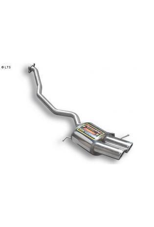 Supersprint Sportauspuff links 2x90 Magnum-Look - BMW X5 E53 3.0i-4.4i-3.0d Bj. 01-06 und 4.6is Bj. 01-03