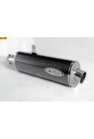 Sebring Sportauspuff Carbon Endschalldämpfer Twister slip on DM 54 mm BMW Streetbike R 1200 RT u. R 1200 ST - ab Bj.05