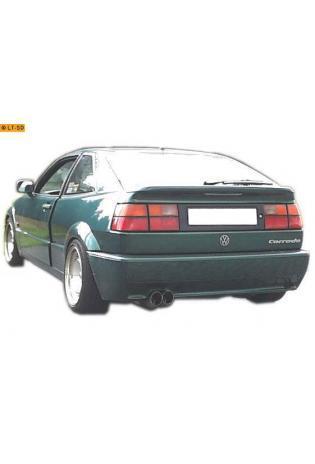 FOX Sportauspuff Endschalldämpfer VW Corrado 2.0l  2.9l 2 x 76mm DTM