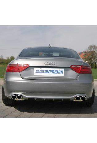 EISENMANN Sportauspuff Duplex Audi A5 3.2l TFSI + A4 B8 8K 3.2l FSI - re/li je 2 x 90x70mm