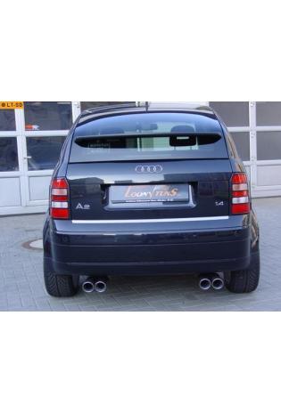 Einzelanfertigung Komplettanlage ab VSD für Audi A2 Typ 8Z