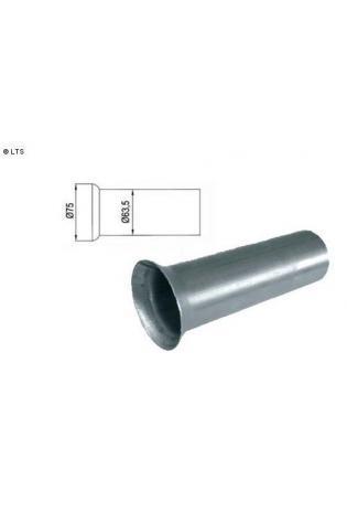 Tulpe Ø 63.5mm Länge 200mm Edelstahl