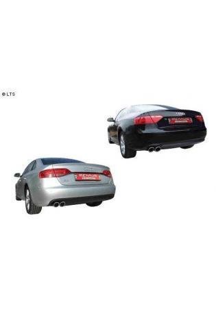 REMUS Sportauspuff 2 x 84mm schräg Audi A4 Limousine 1.8l TFSI  2.0l TDI ab Bj. 08 und A5 Limousine 1.8l TFSI ab Bj. 07 Edelstahl Endschalldämpfer