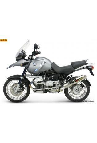 Akrapovic runder Schalldämpfer mit Titan Außenhülle Typ Slip on BMW R 1150 GS Bj.99-04 BMW R 1150 GS Adventure Bj. 01-05