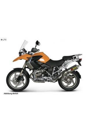 Akrapovic elliptischer Schalldämpfer mit Titan Außenhülle Typ Slip on BMW R 1200 GS- Bj. 04-09