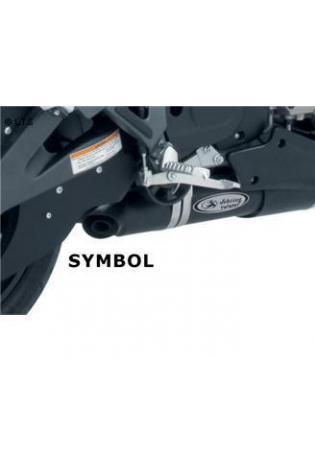 Sebring Schalldämpfer Typ Twister - DM 90mm slip on L-R mit Edelstahl Außenmantel inkl. Kat. - BUELL XB -12S- 12Scg- 12Ss- 12sTT Lightning u. XB-9- ab Bj.08