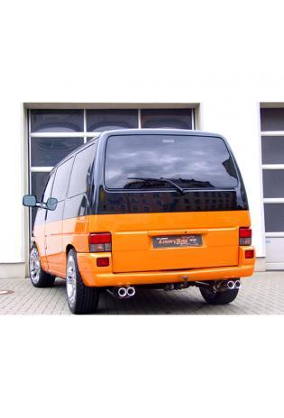 FOX Duplex Komplettanlage ab Kat. VW Bus T4  1.9l  2.0l  2.5l  2.8l  1.9l D 1.9l TD 2.4l D 2.5l TDI - rechts links je 2x 93x79mm