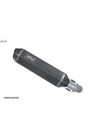 Remus Komplettanlage inkl. Schalldämpfer Typ HexaCone mit Carbon Außenhülle ohne Kat. BMW R 1200 GS-Adventure - Bj.04-08