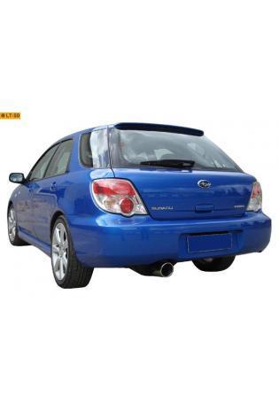 FOX Sportauspuff  Subaru Impreza GC  GF  GD  GG 2.0l  100mm eingerollt abgeschrägt mit Absorber (RohrØ 63mm)
