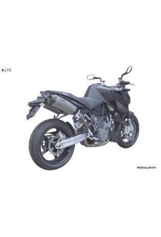 Remus Schalldämpfer Typ HexaCone mit Carbon Außenhülle slip on li-re ohne Kat. KTM 990 Superduke - ab Bj.05 u. 990 Superduke R - ab Bj.07