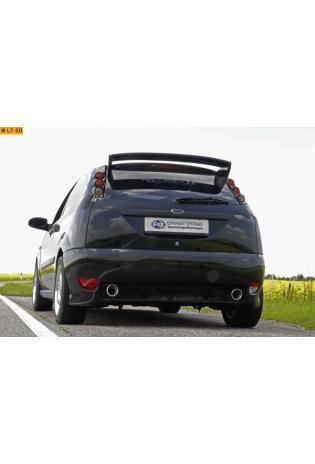 FOX RACING Komplettanlage ab Kat. Ford Focus 1 DAW u. DBW Fließheck Bj. 98-04  1.4l  rechts links je 1 x 90mm