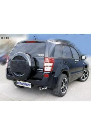Suzuki Grand Vitara 2 Typ JT 1.6l 2.0l EISENMANN Sportauspuff Endschalldämpfer Edelstahl 1 x 83mm
