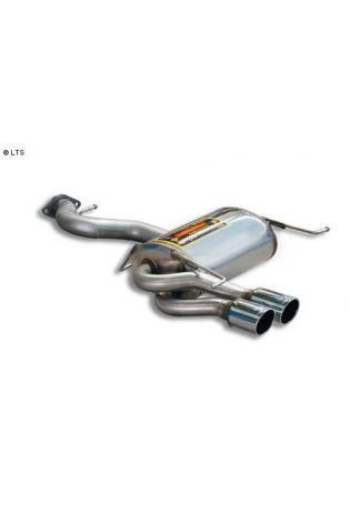 Supersprint Sportauspuff Endschalldämpfer 2x 80mm - BMW 3er E92/E93 325i-325xi-330i-330xi ab Bj. 07