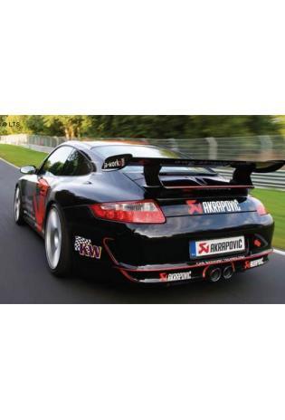 Akrapovic Titan Racinganlage ab Kat. - Porsche 911 GT3 RS Version u. GT3 CUP Version - ab Bj. 09