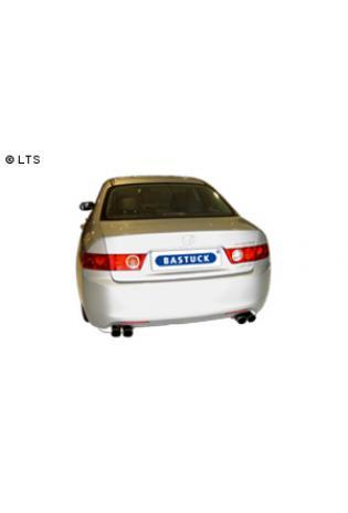 Honda Accord ab Bj. 02 (nicht Kombi) 2.0l  2.4l  BASTUCK Komplettanlage ab Kat. rechts links je 2 x 76mm (AnschlussØ 63mm)
